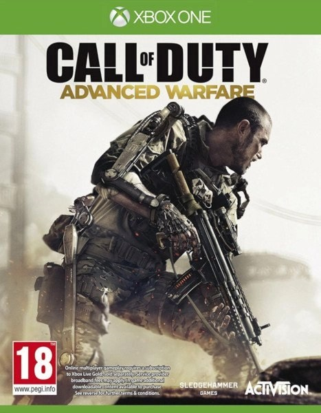 Call of Duty Advanced Warfare Xbox One cover