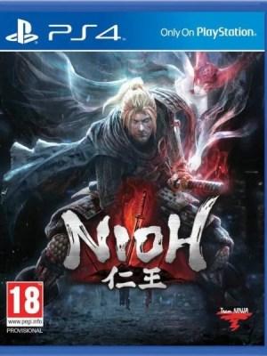 Nioh Playstation 4 cover