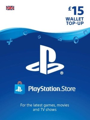 Playstation Network 15 GBP Card