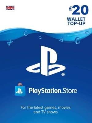 Playstation Network 20 GBP Card