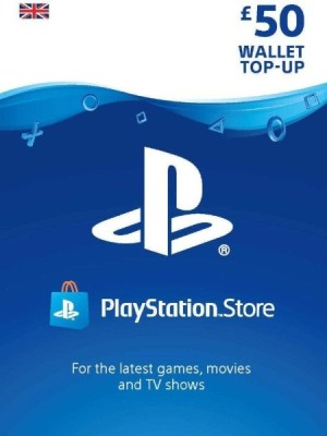 Playstation Network 50 GBP Card