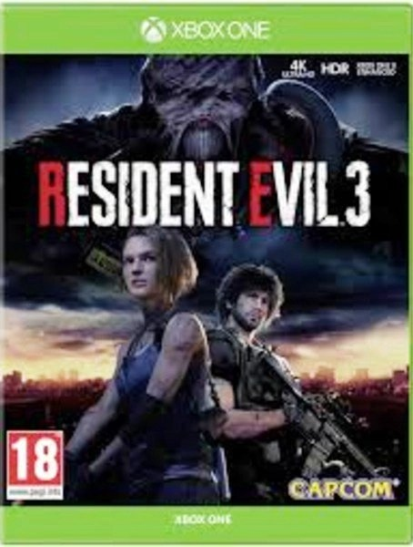 Resident evil 3 Microsoft Xbox One Cover