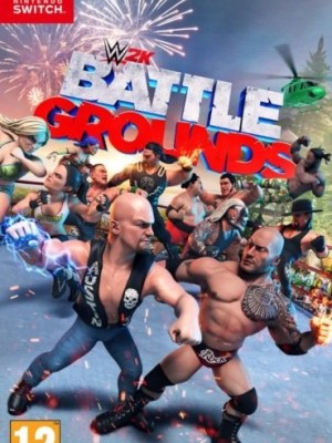 WWE 2K Battlegrounds Nintendo Switch cover