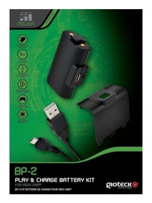 Gioteck BP-2 USB Play and Charge Battery Kit Xbox One