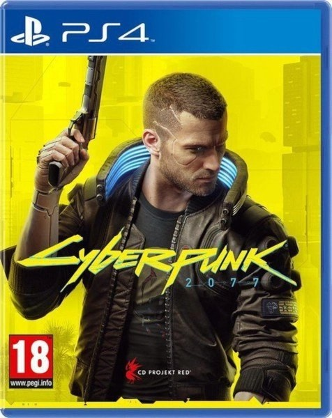 Cyberpunk 2077 Playstation 4 cover