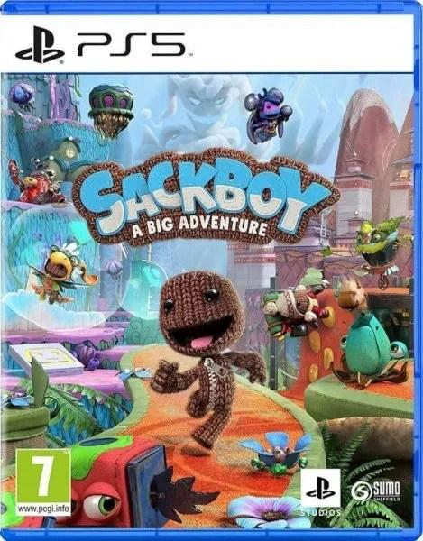 Sackboy A Big Adventure Playstation 5 cover