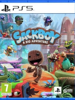 Sackboy A Big Adventure Playstation 5 cover