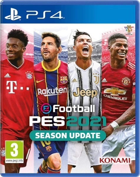 eFootball PES 2021 Season Update Playstation 4 cover
