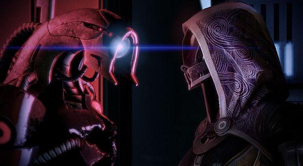 Mass Effect 3 Tali and Legion