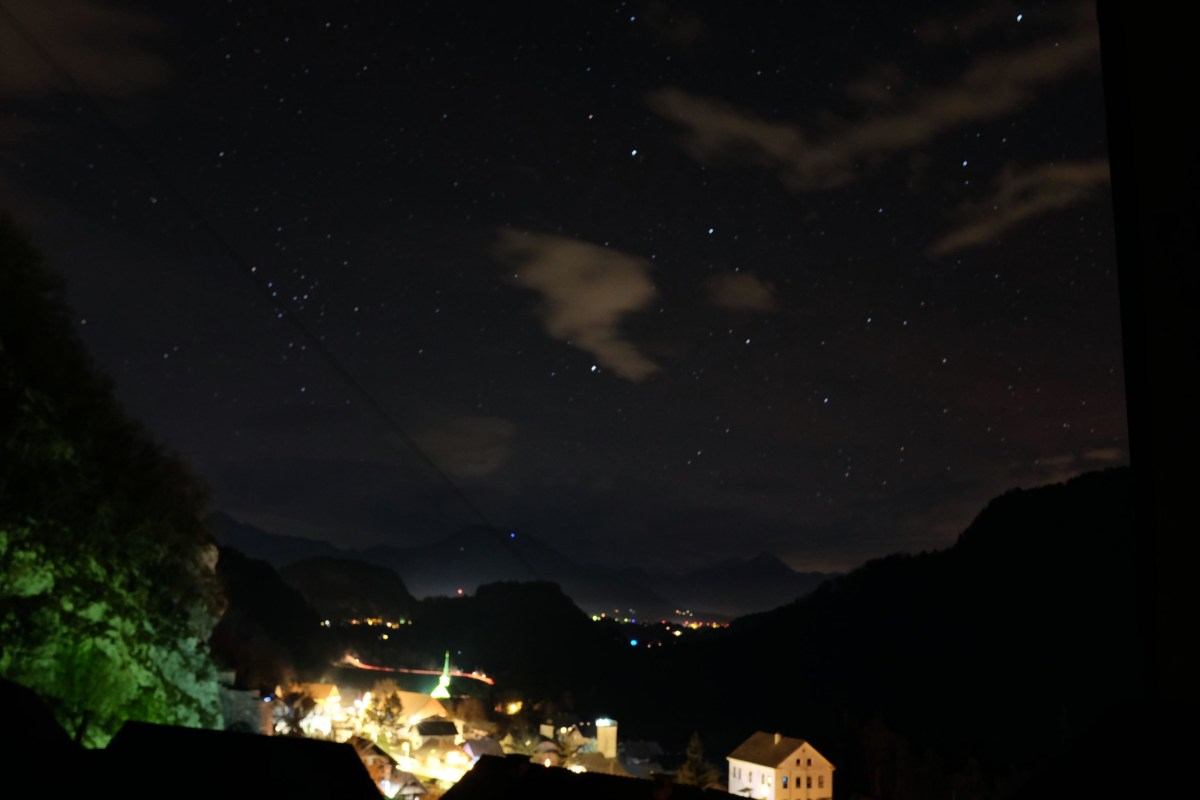 Star Gazing at Lake Bled