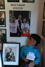 Jerry Layne Special Exhibit at Vent Haven Museum