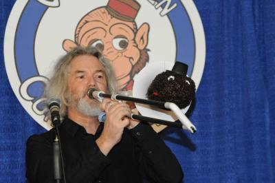 Phil Hughes and his talking trombone