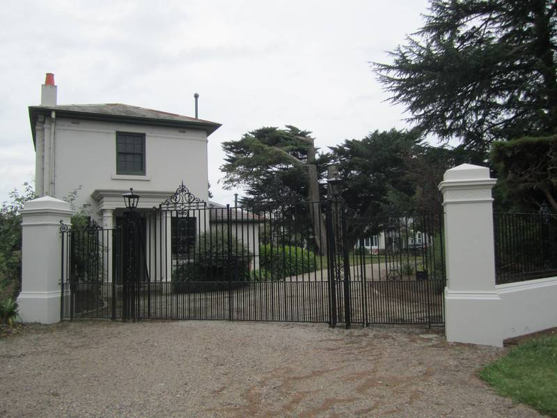 Front entrance showing Gatehouse