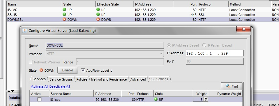 How to configure HTTP to HTTPS redirection on a Netscaler |