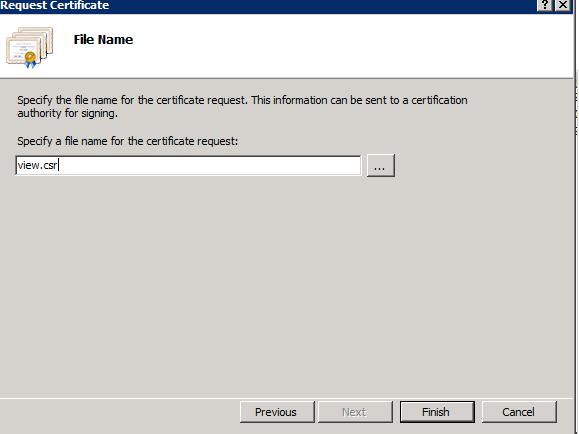 Configuring an external VMware View Security Server SSL certificate ...