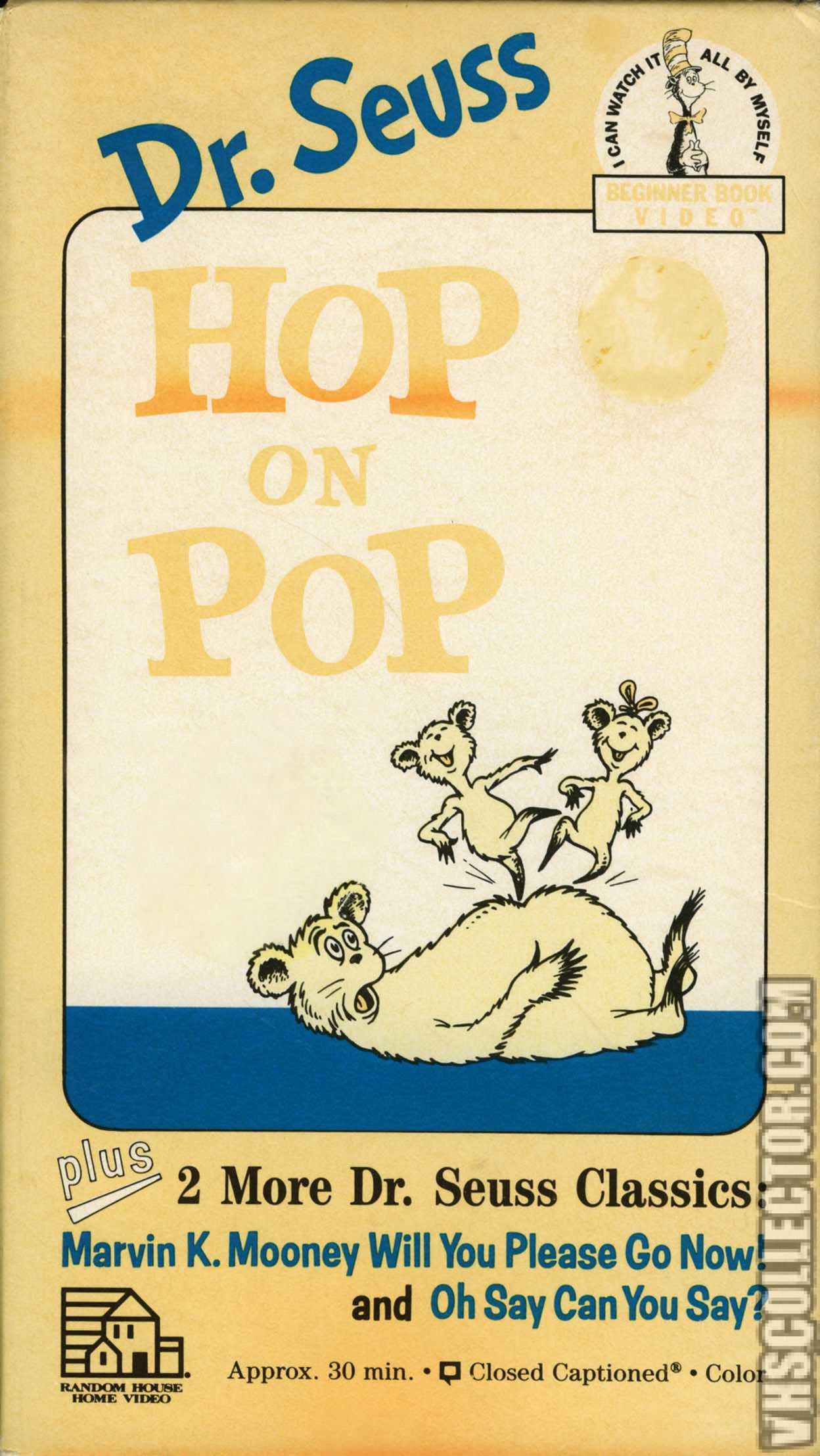 Dr Seuss Hop On Pop