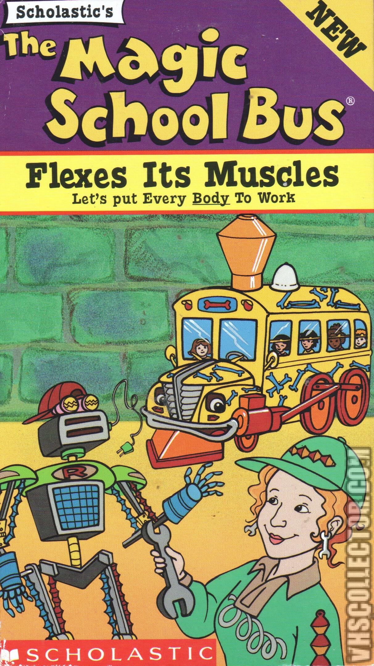 The Magic School Bus Flexes Its Muscles