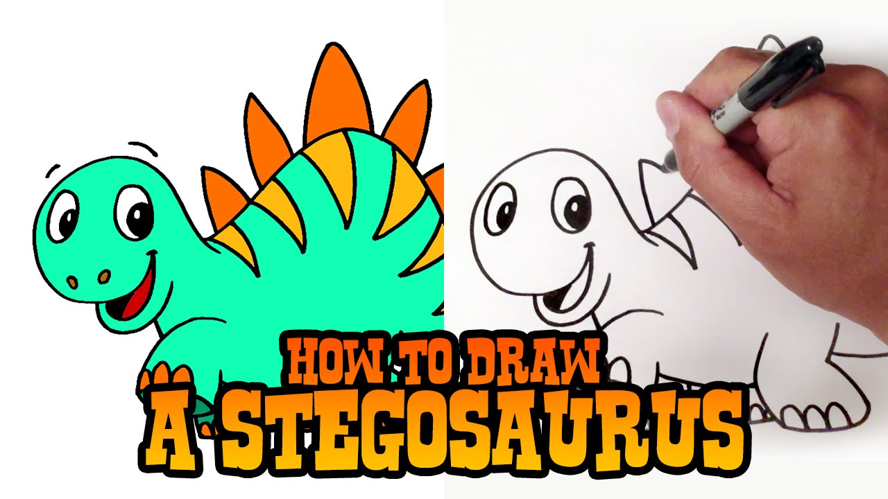 How To Draw A Cartoon Dragon Animals Creatures C4k Academy