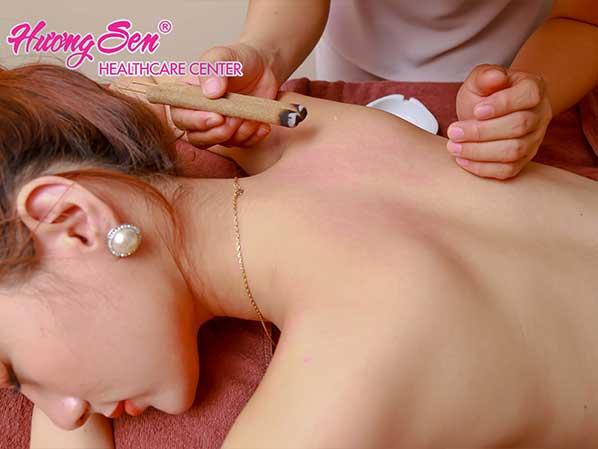 bấm huyệt trị đau lưng