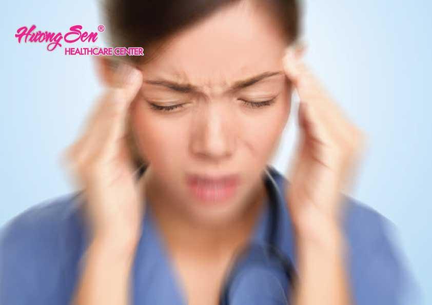 Chóng mặt là triệu chứng của bệnh rối loạn tiền đình