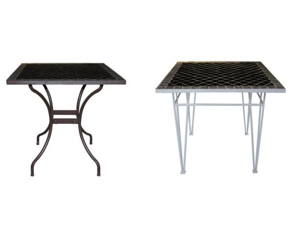 chân bàn sắt mỹ nghệ cho bàn mosaic