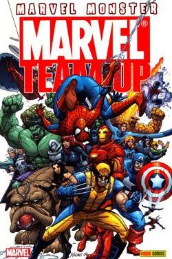 """Marvel Monster: Marvel Team Up nums.1 y 2"" (Robert Kirkman, Paco Medina y Scott Kolins, Panini Comics)"