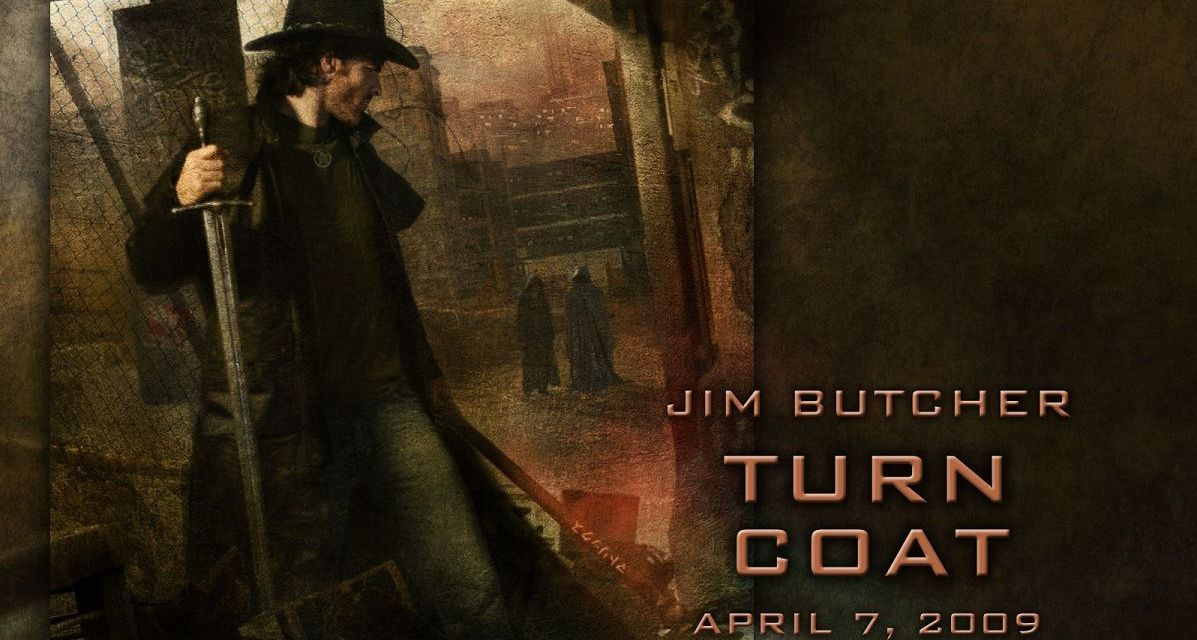 """Harry Dresden files: Turn Coat"" (Jim Butcher)"