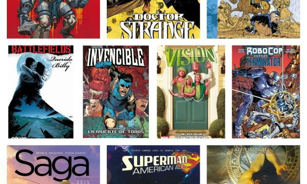 Top 10 de cómics del año 2016 (de Vic)