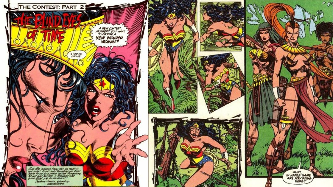 """Wonder Woman: El Torneo"" (William Messner-Loebs y Mike Deodato, Jr, ECC Cómics)"
