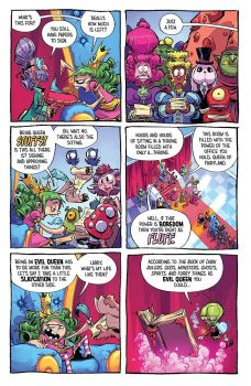 """I hate Fairyland #2"" (Skottie Young, Evolution Cómics)"