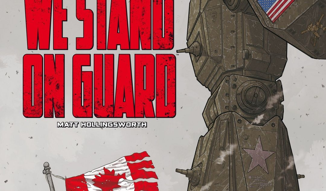 """We stand on guard"" (Brian K.Vaughan y Steve Skroce, Planeta Cómic)"