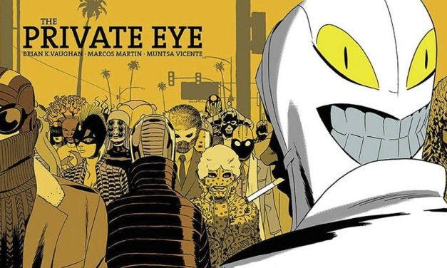 """The Private Eye"" (Brian K Vaughan y Marcos Martin, Ediciones Gigamesh)"