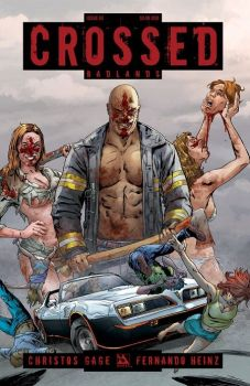 """Crossed 7"" (Garth Ennis, David Lapham y otros, Panini Cómics)"