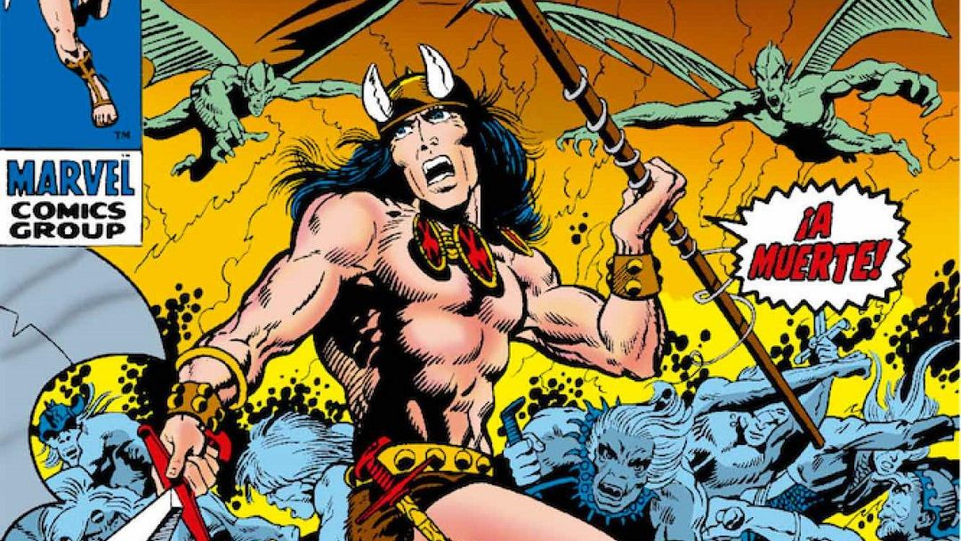 «Conan el Bárbaro. La Etapa Marvel Original 1: ¡Llega Conan el Bárbaro!» (Roy Thomas y Barry W. Smith, Panini Cómics)