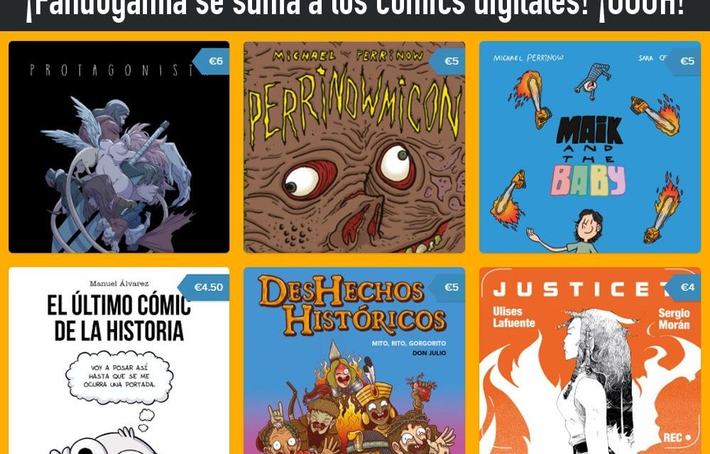 ¡Cómics digitales en Fandogamia!