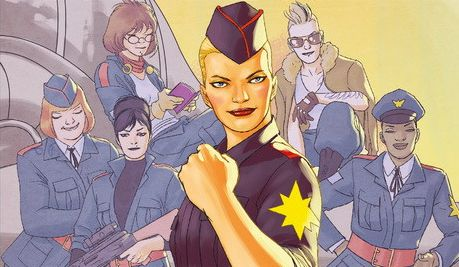 «Capitana Marvel #6: Carol Corps» (Kelly Sue Deconnick, David López, y otros, Panini Cómics)