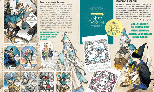 ¡Doble edición de Atelier of Witch Hat #7!