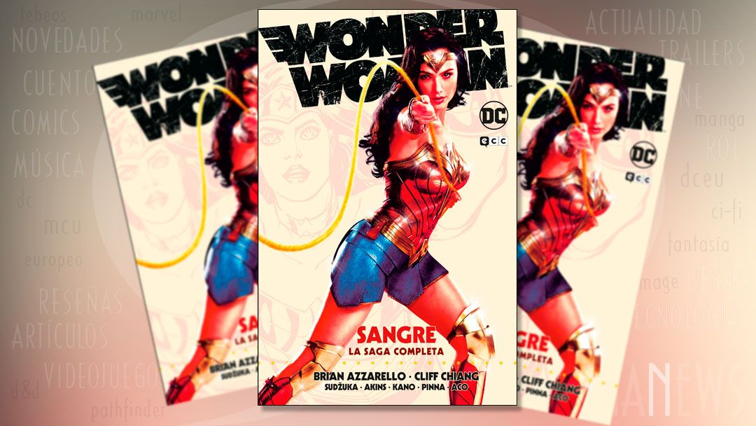 Wonder Woman Sangre