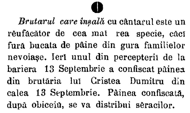 brutarul care inseala Telegraful(1888)