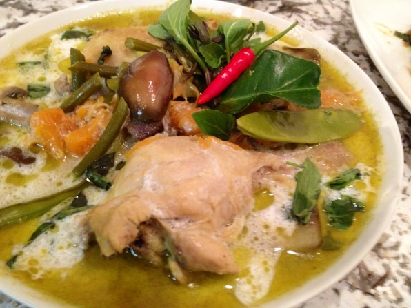 curry verde tailandés - green thai curry