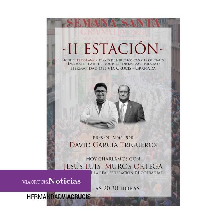 """""""Segunda estación"""" con Jesús L. Muros Ortega"""