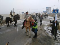 Ci troviamo al confine tra Polonia e Slovacchia e i due Cavalieri sono: Denisa Bolfova e Jozef Mos rispettivamente i due responsabile delle tratte