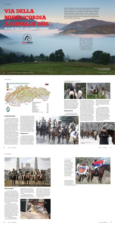 Articolo Web - Via della Misericordia a Cavallo 2016