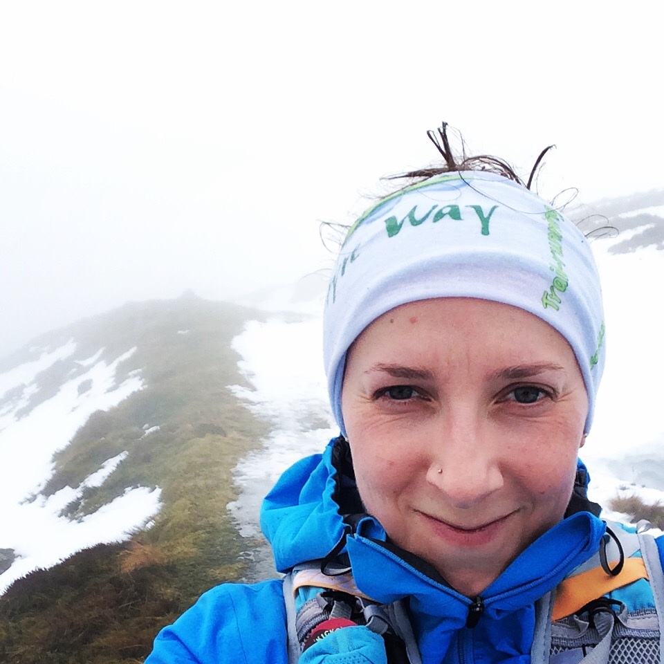 Same runner, same cairn six months ago in some fairly extreme conditions