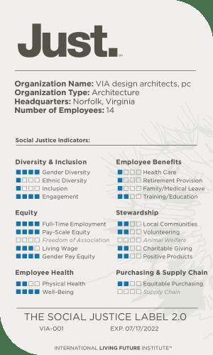 VIA's JUST 2.0 Label