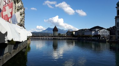 Famous Kappelbrücke, Lucerne