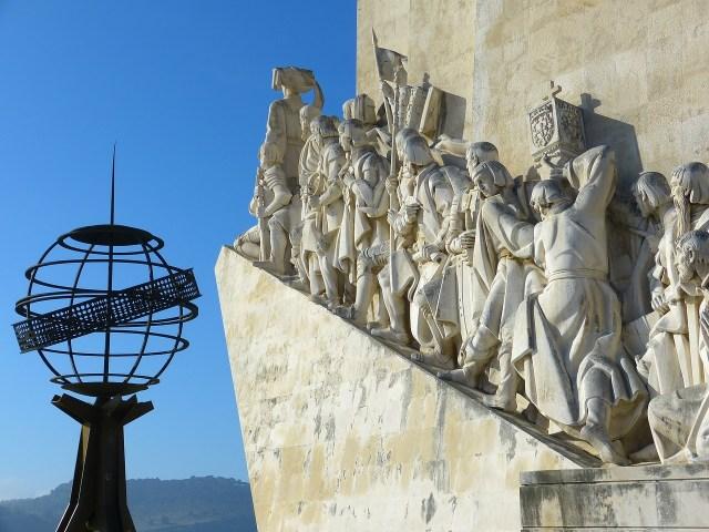 Monumento dos Descobrimentos, em Lisboa (Portugal)