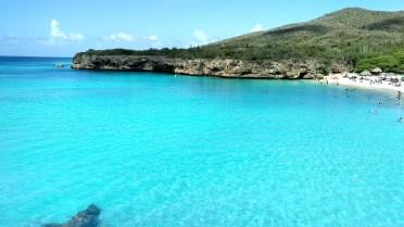 Praia Kenepa Grandi, em Curaçao