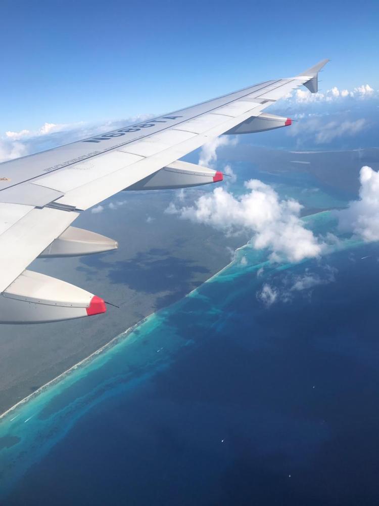 Sobrevoando Punta cana