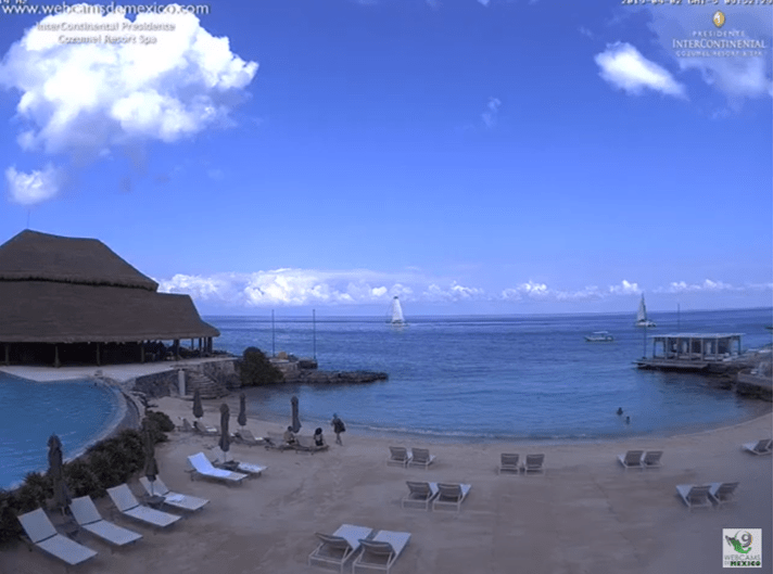 webcam cancun intercontinental